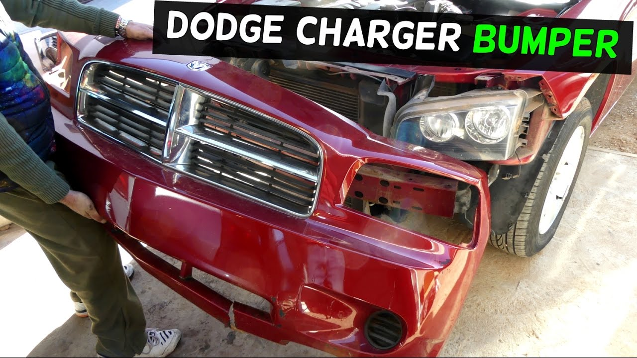 dodge charger front bumper cover removal replacement youtube rh youtube com 1968 Dodge Charger Dodge Charger Body Kits