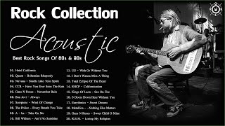 Download Acoustic Rock Collection | Best Rock Songs Of 80s and 90s | Most Popular Rock Songs