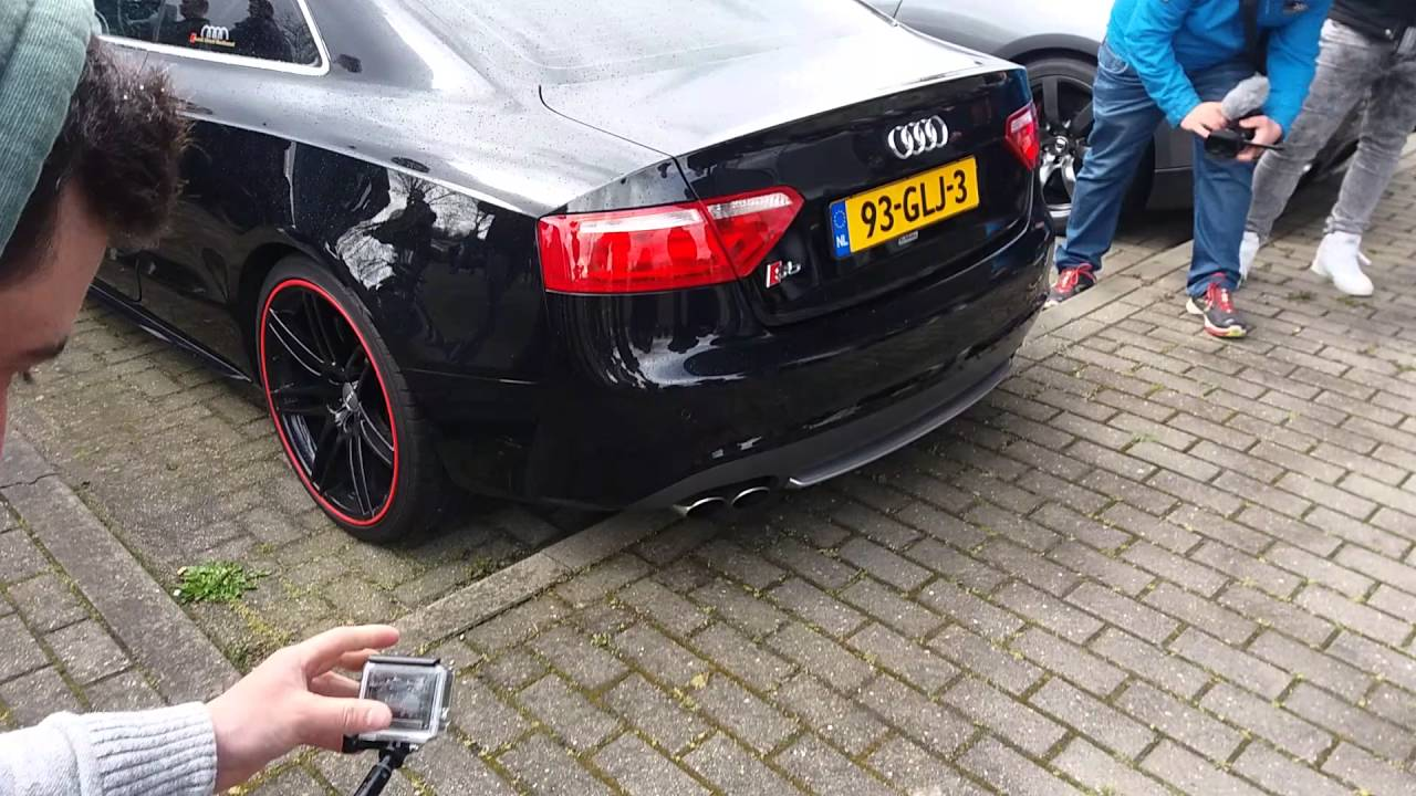 Audi S Custom Exhaust YouTube - Audi s5 custom