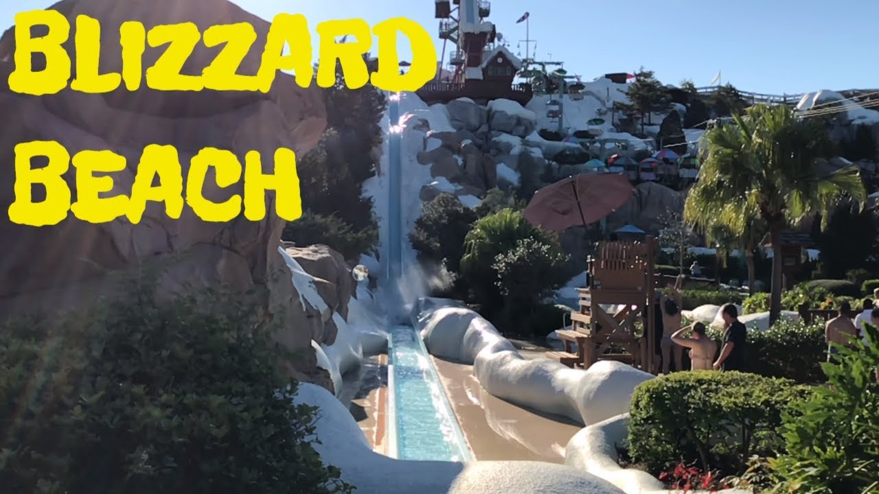 Disney S Blizzard Beach Full Park Tour And Overview In 4k 2018