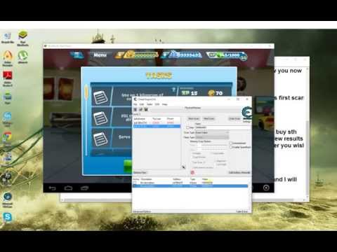 clash of clans bluestacks hack cheat engine 2018