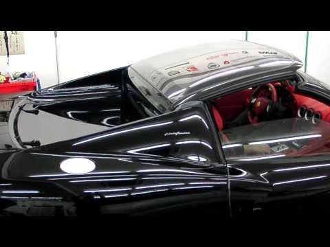 http://polishfactory.net/ フェラーリFerrari575スーパーアメリカのオープン画像、電動でワンタッチ 早い早い V12でオープン Cピラーの形もgood。