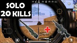 Best Weapon in PUBG Ever! | AWM + M249 | 20Kills in SOLO | PUBG Mobile | 絕地求生M