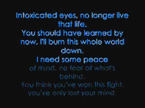 Had Enough by Breaking Benjamin with lyrics