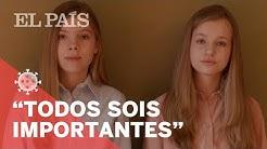 #CORONAVIRUS | El mensaje de la PRINCESA LEONOR y la INFANTA SOFÍA