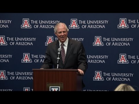 Dr. Robert Robbins | University of Arizona Presidential Finalist