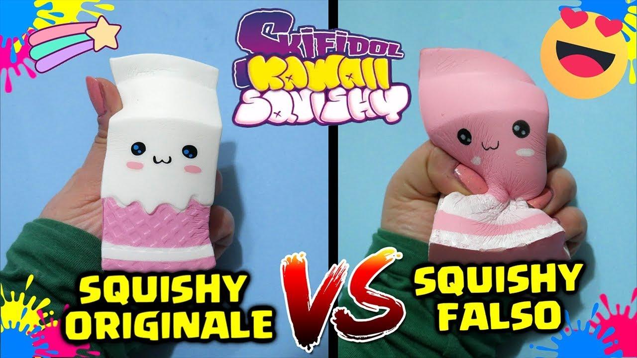 Squishy Baru 2018 : SKIFIDOL KAWAII SQUISHY ORIGINALE VS FALSO!! SQUISHY BATTLE! By FrancyDreams - YouTube