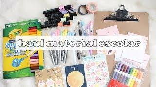 HAUL MATERIAL ESCOLAR/PAPELERÍA ECONÓMICA - regreso a clases   sofiapricot
