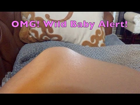 Most Active Baby Kicking! Baby Moving Belly – See Legs – 3rd Trimester 35 Weeks – May Gross You Out