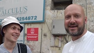 Two Foreigners Speaking Hindi In India
