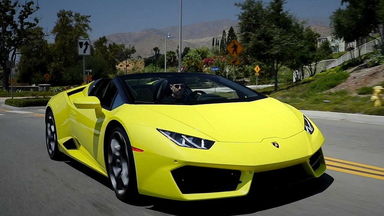 2017 Lamborghini Huracán RWD Spyder