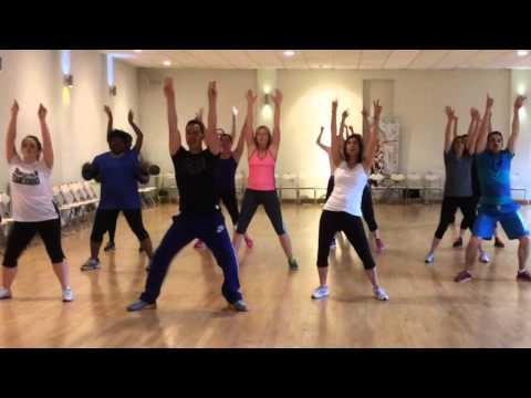 Maria - Zumba - Ricky Martin - @RalphSebastian - Dance Fitness