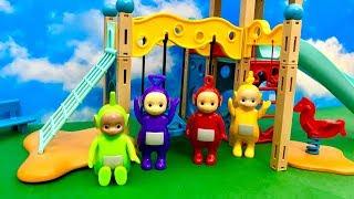 Teletubisie na nowym placu zabaw  Bajka dla dzieci PO POLSKU