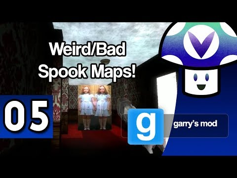 [Vinesauce] Vinny - Garry's Mod: Weird/Bad Spook Maps (part 5)