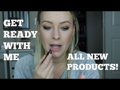 Get Ready With Me | All New Products!