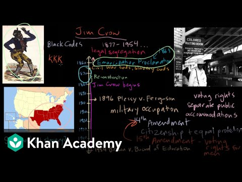 Jim Crow part 3 | The Gilded Age (1865-1898) | US History | Khan Academy