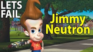 LETS FAIL: Jimmy Neutron: Boy Genius || Everything Wrong With Nickelodeon Movie