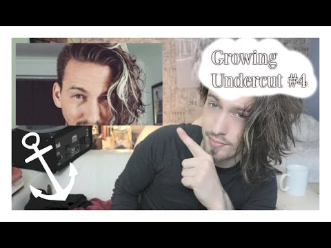 Wonderful Mens Hair   Growing Out Your Undercut #4   YouTube