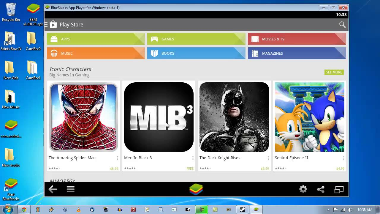 how to install google play apps on windows 10