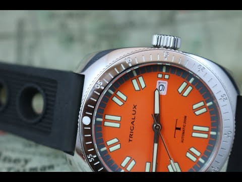 Trigalux T-Diver: Vintage inspired with X5 lume.