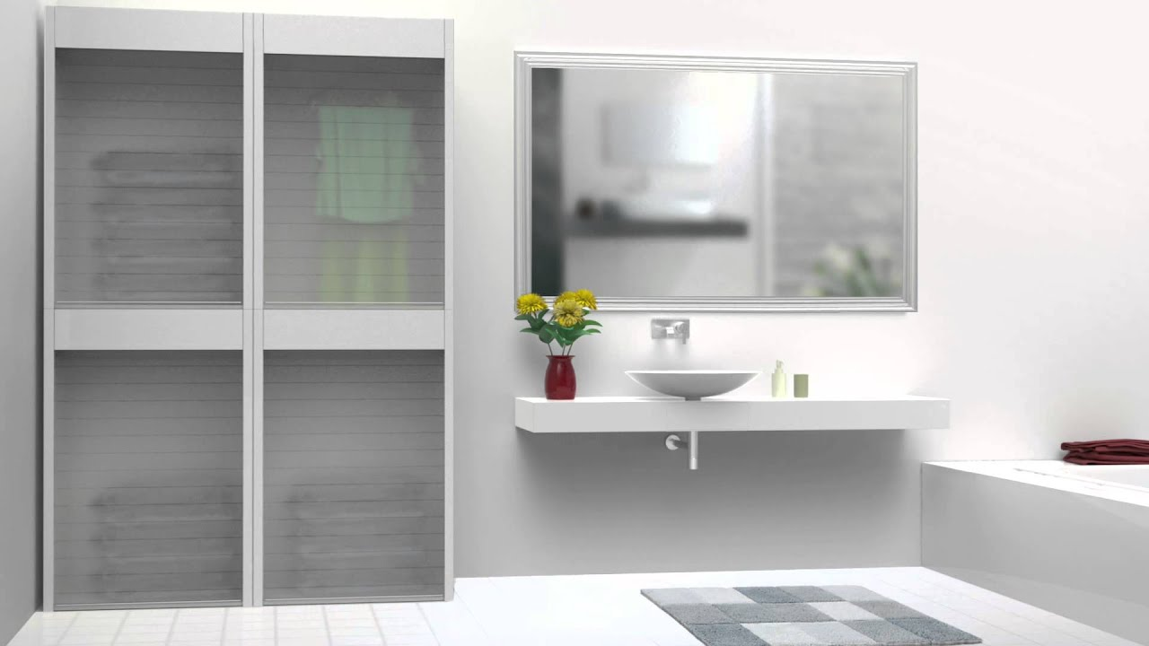 Roller Shutter Kitchen Doors Rehau Roller Shutter Range Furniture Solutions Youtube