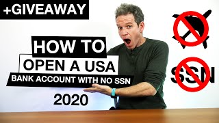 How to open a US bank account online without an SSN from abroad