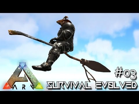 ARK: SURVIVAL EVOLVED - NEW FLYING BROOMSTICK & QUETZ TAMING !!! E03 (MODDED ARK MYSTIC ACADEMY)