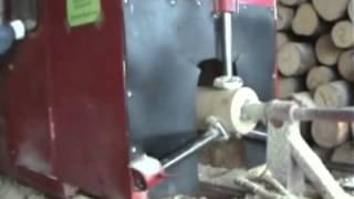 Оцилиндрованное бревно, производство(Оцилиндрованное бревно, производство., 2013-07-11T19:46:08.000Z)