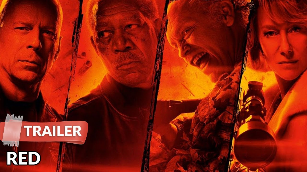 Red 2010 Trailer Hd Bruce Willis Helen Mirren Morgan Freeman Youtube