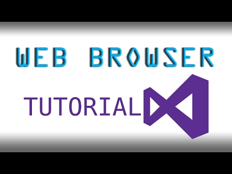 How to make a Basic Web Browser in Visual Studio (VB.NET) 2017