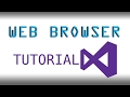 How to make a Basic Web Browser in Visua