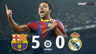 Барселона Реал Мадрид 5 0 Обзор Матча Чемпионата Испании 29 11 2010 HD