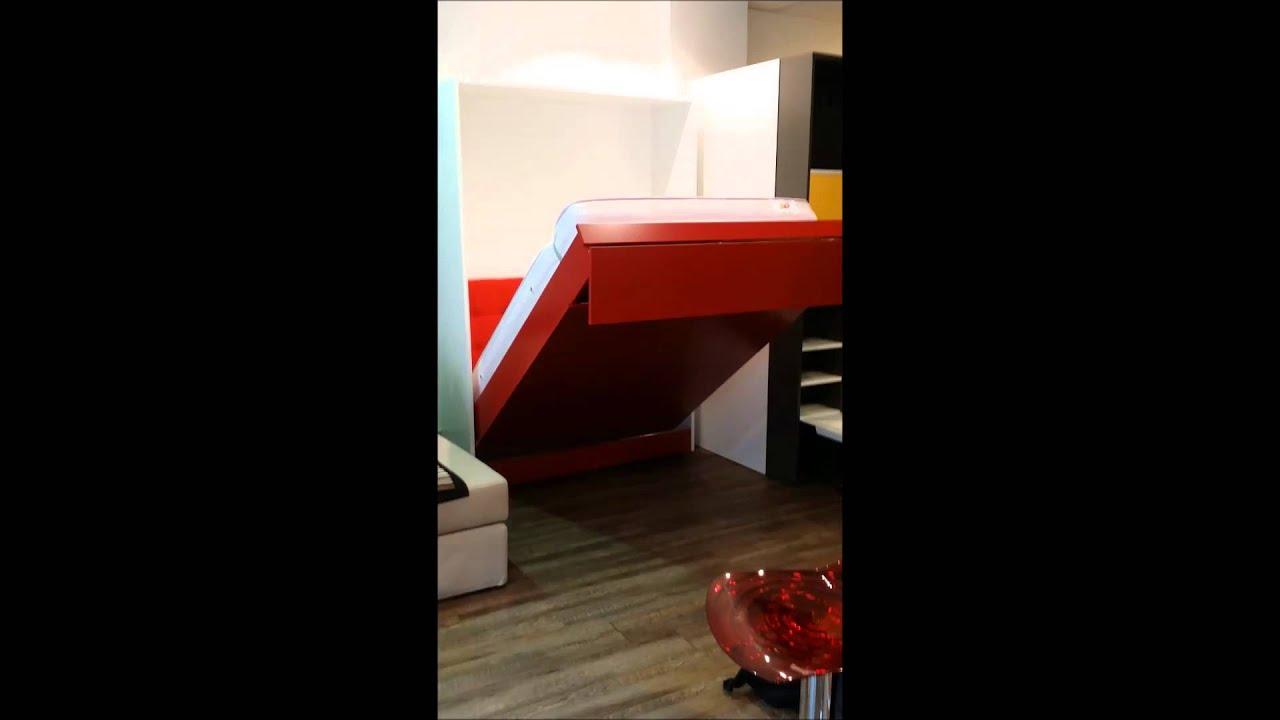 www inside75 com armoire lit segno ouverture lectrique. Black Bedroom Furniture Sets. Home Design Ideas