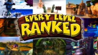 Every Crash Bandicoot Level RANKED! - 163 Levels from Worst to Best