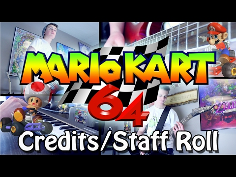 Credits/Staff Roll - Mario Kart 64 (Rock/Orchestral) Guitar Cover