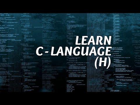 LEARN C LANGUAGE TUTORIAL 2