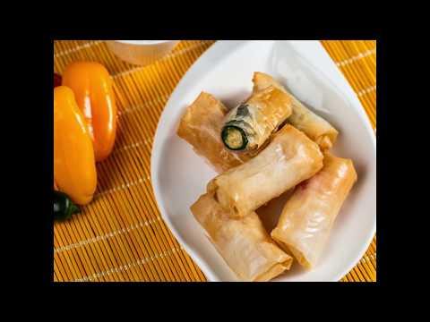 Rulouri prăjite cu jalapeno și 3 feluri de brânză