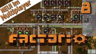 Factorio Multiplayer #8 Rote Module am Start Der Industrie und Fabrik Simulator deutsch HD