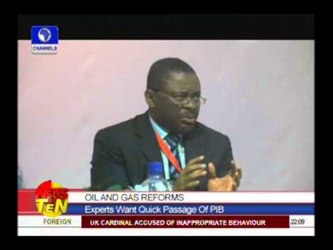 Oil and Gas Reforms:Experts want quick passage of PIB