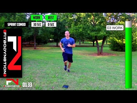 23 Minute Bodyweight Cardio Workout …Quick Toning and Cardio