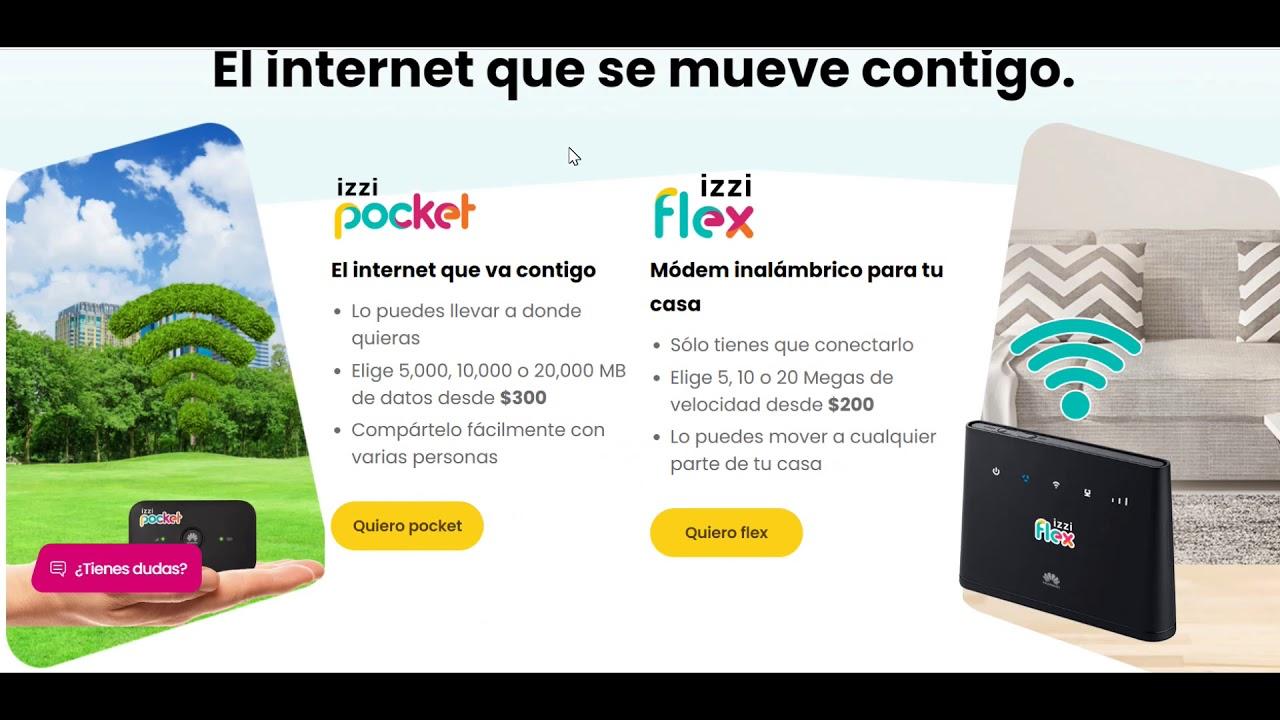 izzi Pocket e izzi flex El internet que se mueve contigo ...