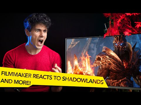 FILMMAKER REACTS TO WORLD OF WARCRAFT WRATH OF THE LICH KING AND SHADOWLANDS CINEMATIC TRAILERS!