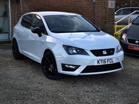 seat ibiza 1 4 tsi act fr black sold by bartletts seat in hastings youtube. Black Bedroom Furniture Sets. Home Design Ideas