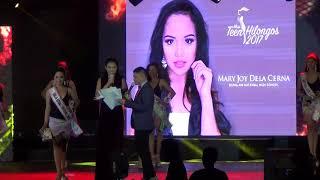 Awards In Best Miss Teen Hilongos 2017