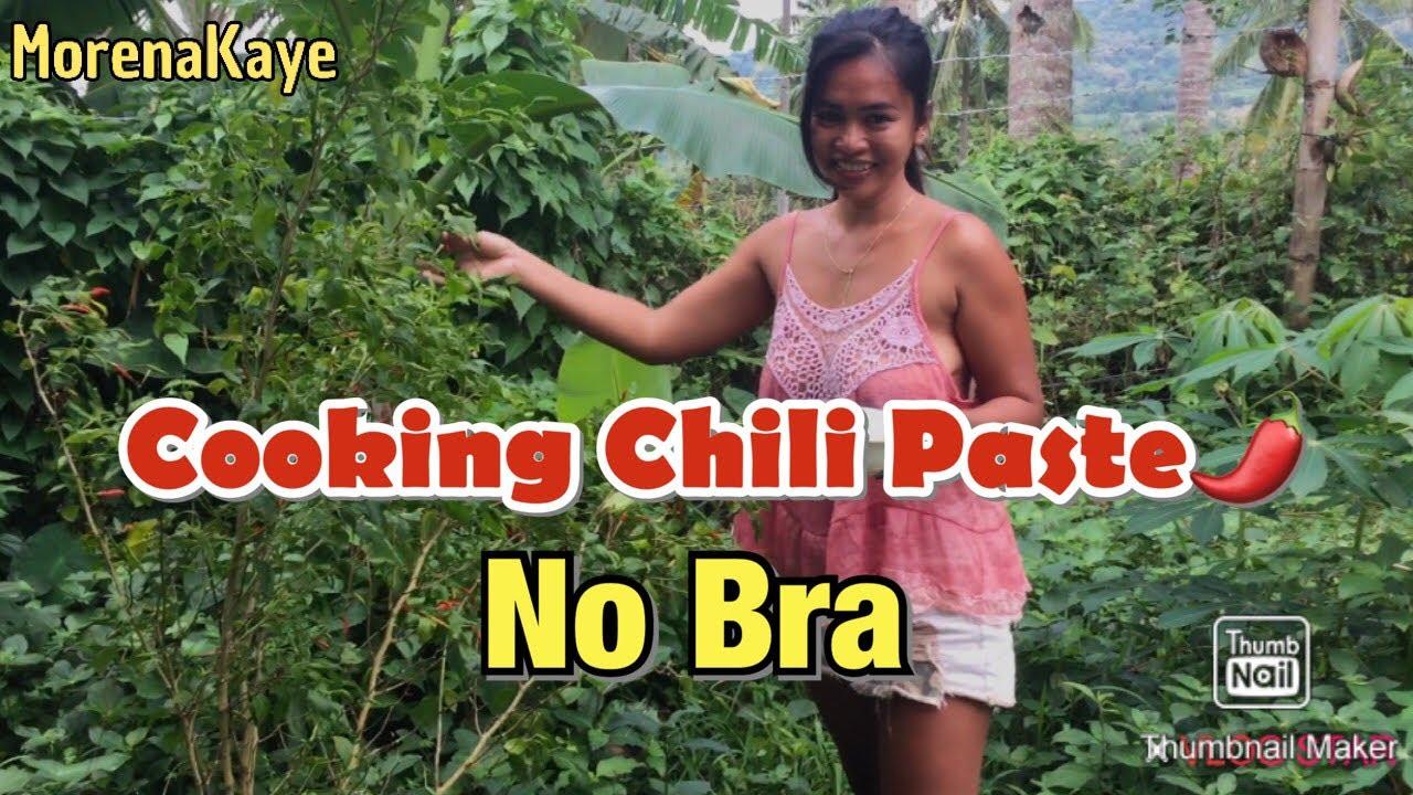 Download Cooking No Bra Challenge  MORENA KAYE