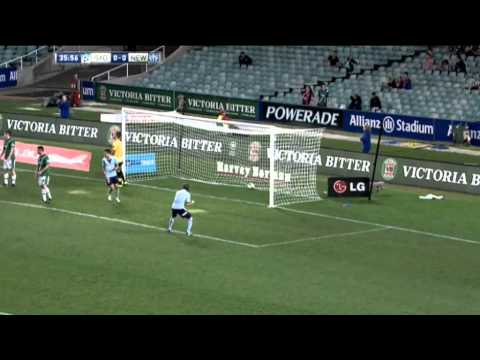 Great goal from Del Piero - Sydney FC vs Newcastle Jets