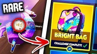 "How to unlock *NEW* Hidden ""Bright Bag"" In Fortnite Battle Royale - Secret item in Fortnite"