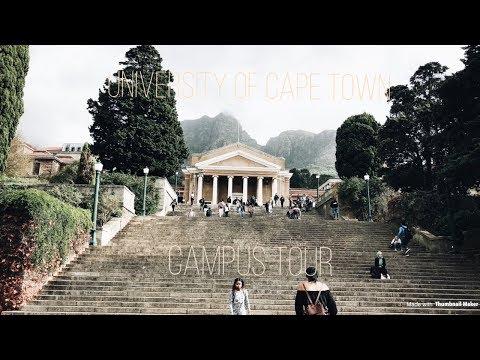 University of Cape Town- CAMPUS TOUR!