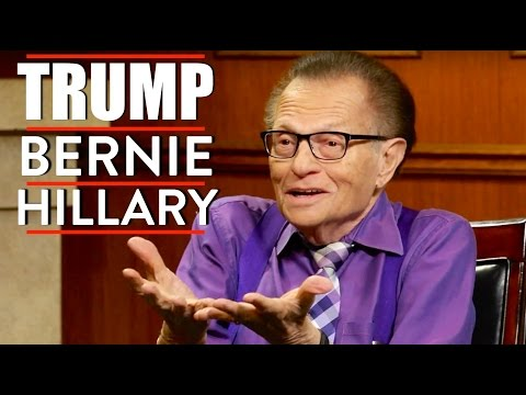 Larry King Talks Donald Trump, Bernie, and Hillary (1 of 2)