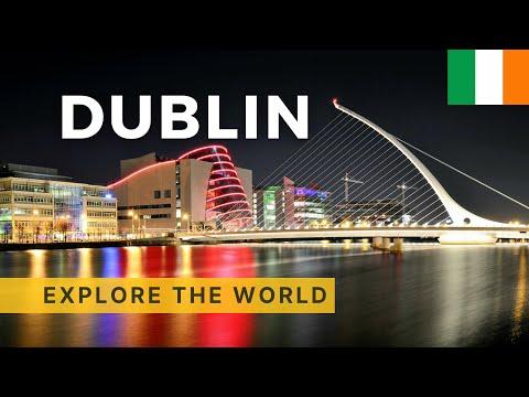 Walking in Dublin, Ireland